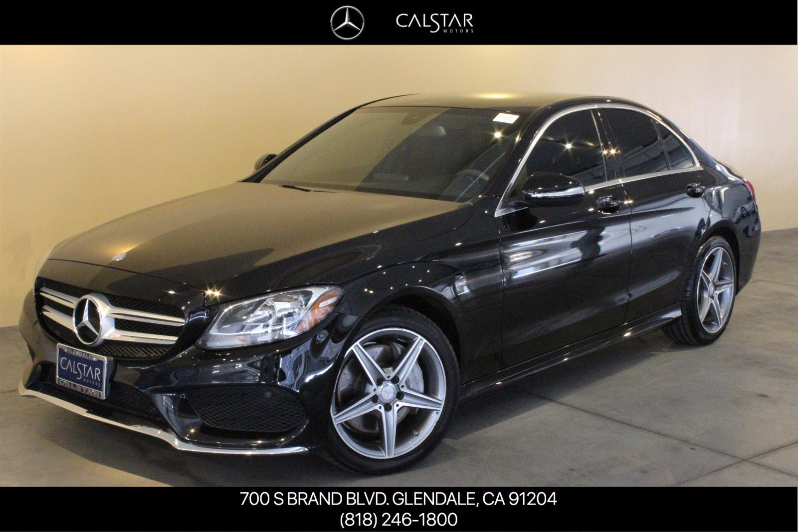 Pre-Owned 2015 Mercedes-Benz C-Class C 300 Luxury