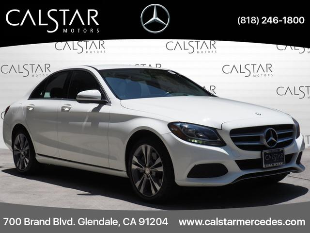 Pre-Owned 2015 Mercedes-Benz C-Class 4dr Sdn C 300 Luxury 4MATIC®