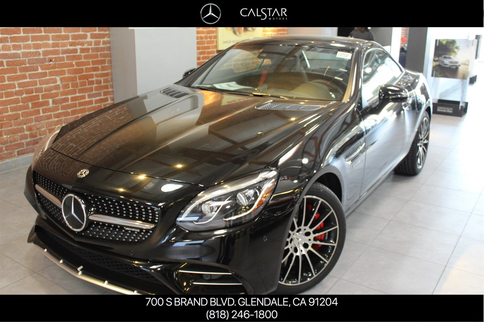 New 2018 mercedes benz slc slc 43 amg roadster roadster for Calstar mercedes benz