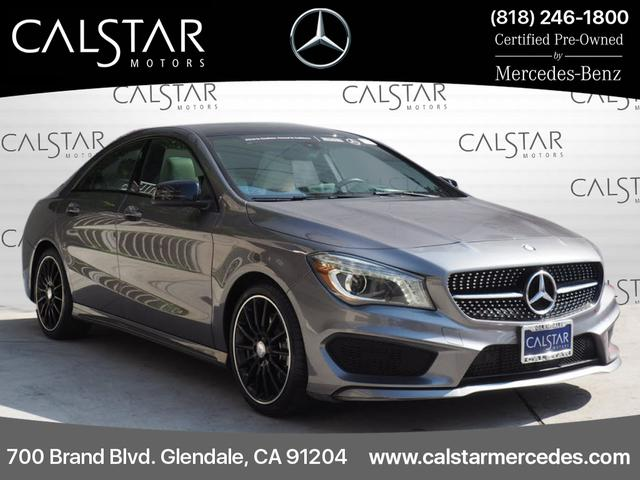 Certified Pre-Owned 2016 Mercedes-Benz CLA 4dr Sdn CLA 250 FWD
