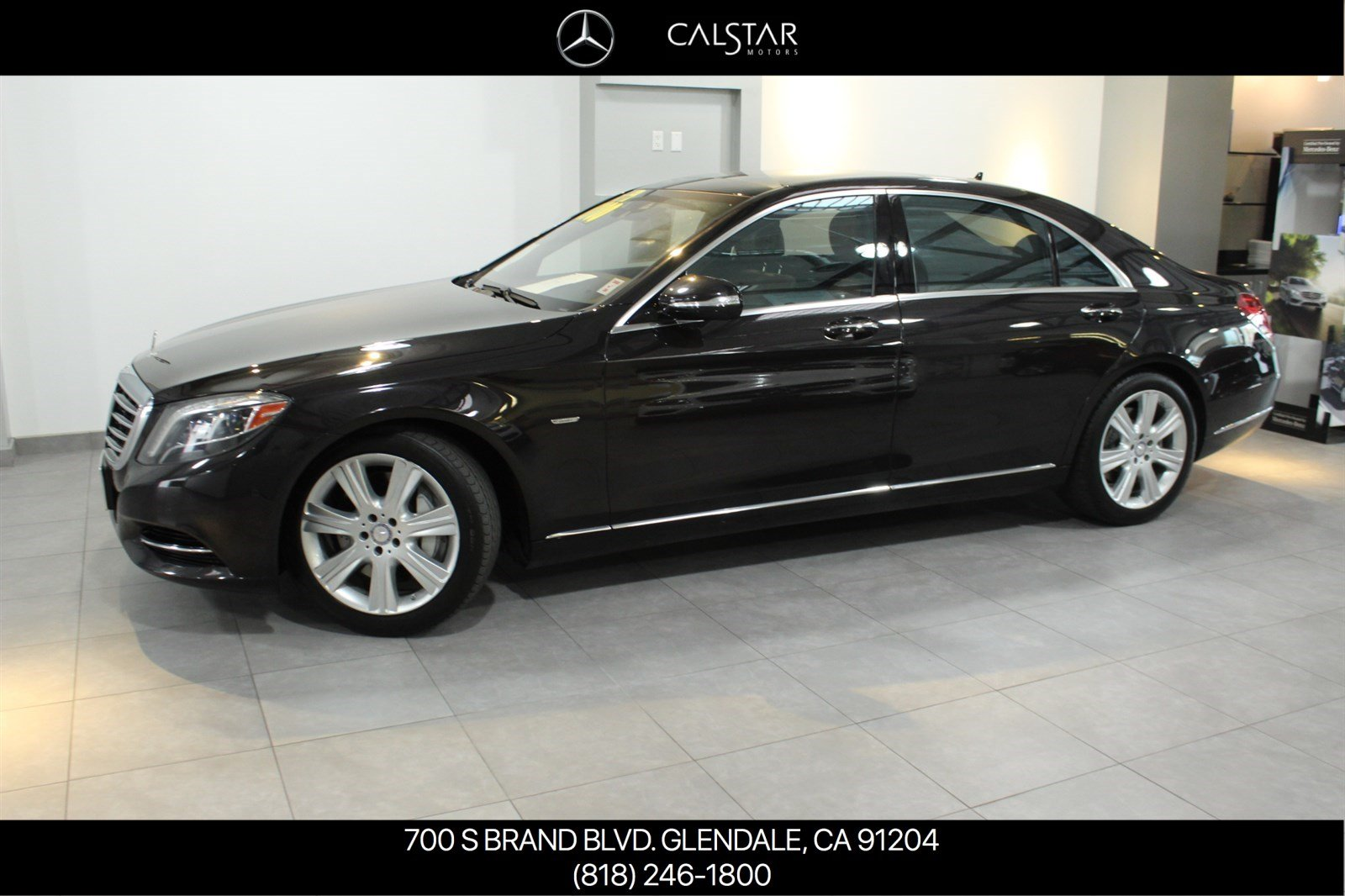 Certified Pre-Owned 2014 Mercedes-Benz S 550