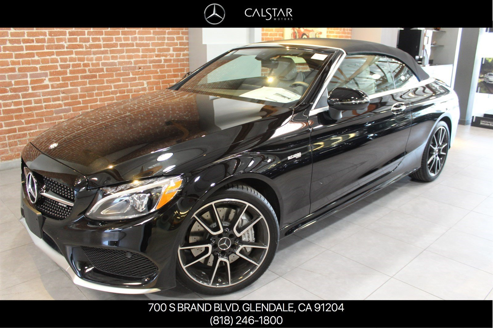 New 2017 mercedes benz c class c 43 amg cabriolet for Calstar mercedes benz