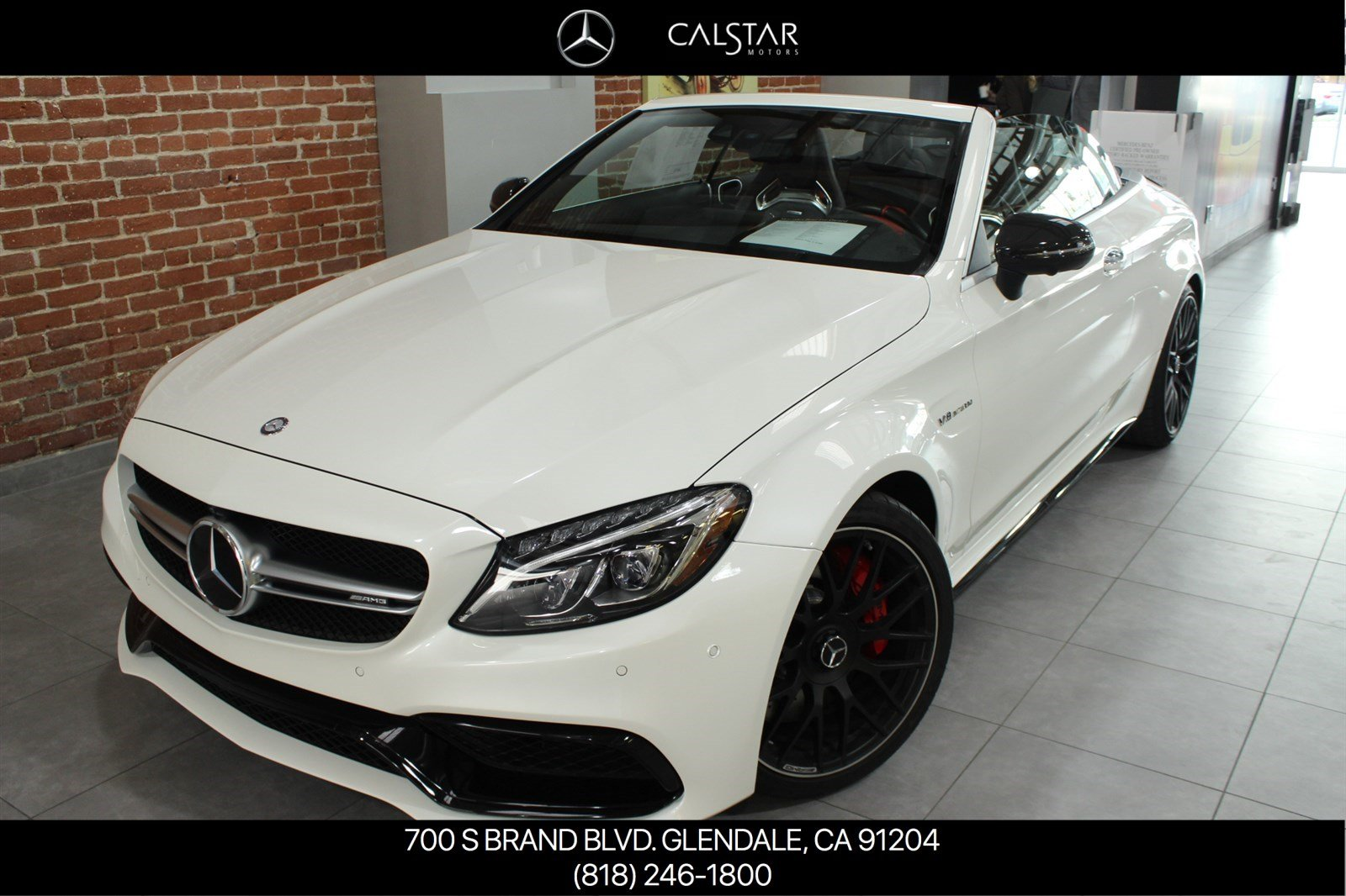 Pre-Owned 2017 Mercedes-Benz C-Class C 63 S AMG Cabriolet
