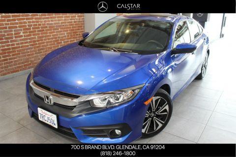 Pre-Owned 2016 Honda Civic Sedan EX-T FWD 4dr Car