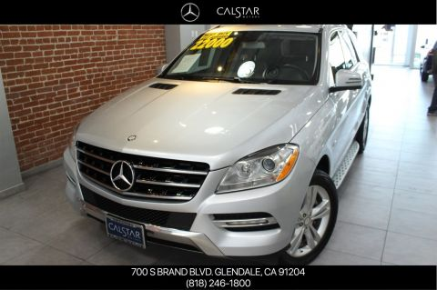 Certified Pre-Owned 2012 Mercedes-Benz M-Class ML 350 With Navigation & AWD