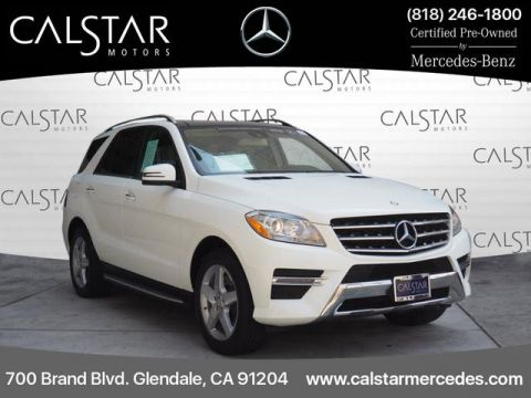 Certified Pre-Owned 2015 Mercedes-Benz M-Class RWD 4dr ML 350 RWD ML 350 4dr SUV