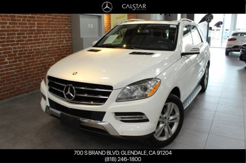Certified Pre-Owned 2015 Mercedes-Benz M-Class ML 350 RWD SUV