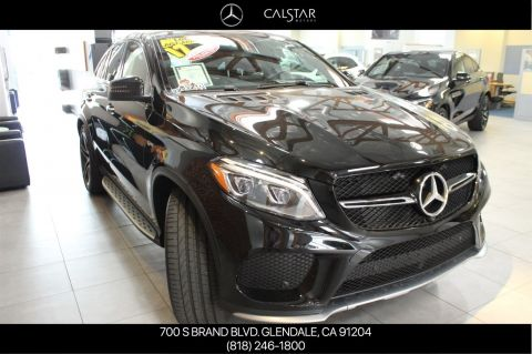 Certified Pre-Owned 2017 Mercedes-Benz AMG® GLE 43 Coupe AWD