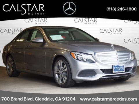 Pre-Owned 2015 Mercedes-Benz C-Class 4dr Sdn C 300 RWD
