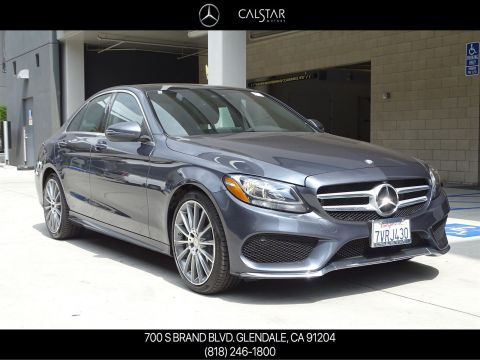 Pre-Owned 2016 Mercedes-Benz C 300 Rear Wheel Drive 4dr Car