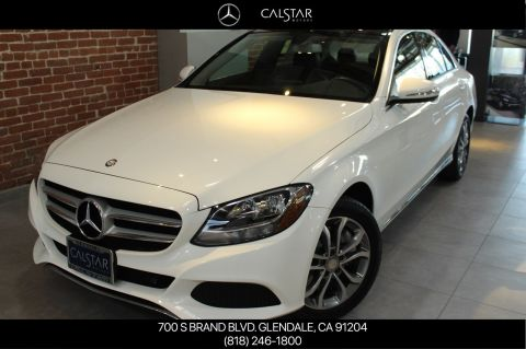 Certified Pre-Owned 2015 Mercedes-Benz C 300 AWD 4MATIC® SEDAN