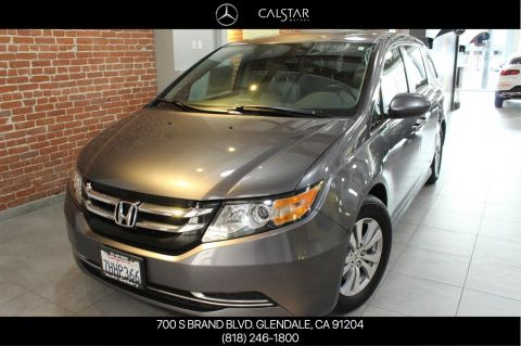 Pre-Owned 2015 Honda Odyssey EX-L With Navigation