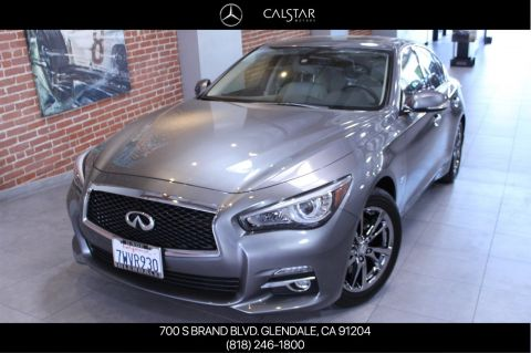 Pre-Owned 2017 INFINITI Q50 3.0t Signature Edition With Navigation