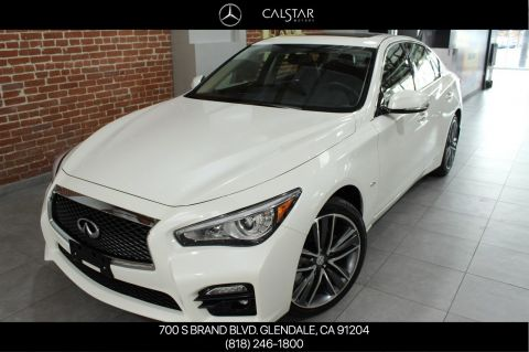 Pre-Owned 2017 INFINITI Q50 3.0t Sport With Navigation & AWD