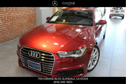 Pre-Owned 2017 Audi A6 Premium Plus AWD