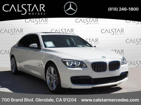Pre-Owned 2013 BMW 7 Series 4dr Sdn 750Li RWD RWD 750Li 4dr Sedan