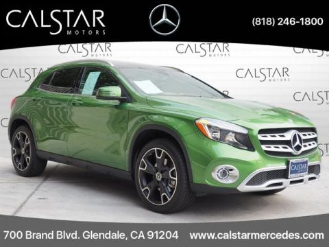 Pre-Owned 2018 Mercedes-Benz GLA 250 FWD SUV