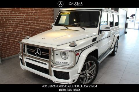 Certified Pre-Owned 2016 Mercedes-Benz G-Class AMG® G 63 SUV AWD