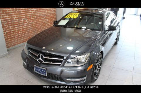 Pre-Owned 2014 Mercedes-Benz C 250 RWD COUPE