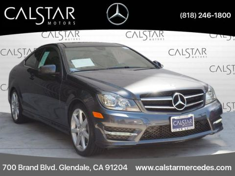 Pre-Owned 2015 Mercedes-Benz C 250 RWD COUPE