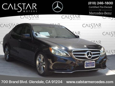 Certified Pre-Owned 2016 Mercedes-Benz E 350 Sport RWD SEDAN