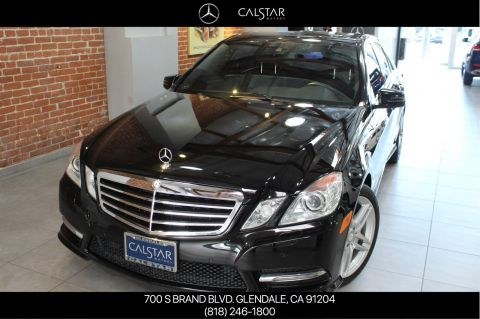 Pre-Owned 2013 Mercedes-Benz E 350 Sport RWD SEDAN