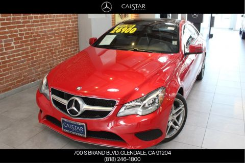 Pre-Owned 2014 Mercedes-Benz E 350 Sport RWD COUPE