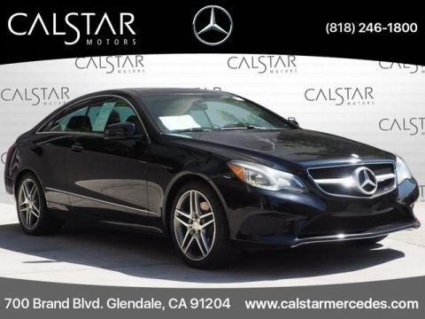 Pre-Owned 2016 Mercedes-Benz E 400 RWD COUPE