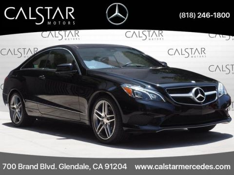 Pre-Owned 2015 Mercedes-Benz E 400 Sport RWD COUPE