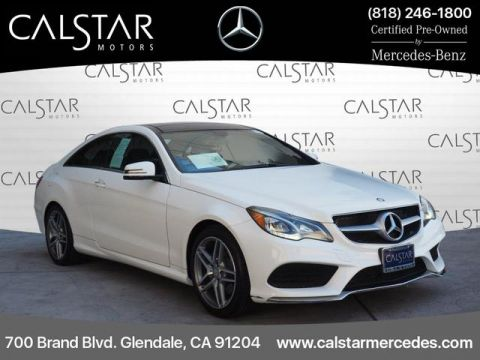 Certified Pre-Owned 2016 Mercedes-Benz E 400 RWD E 400 2dr Coupe