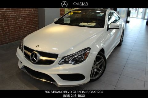 Pre-Owned 2016 Mercedes-Benz E 550 Sport RWD COUPE