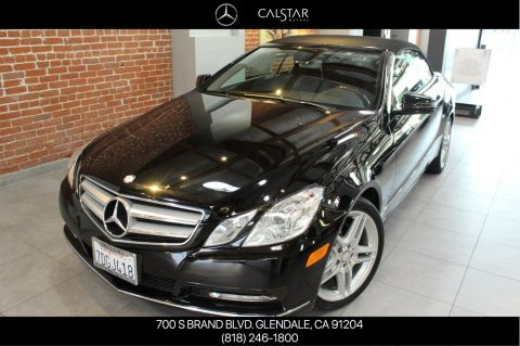 Pre-Owned 2013 Mercedes-Benz E 350 RWD CABRIOLET
