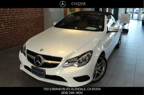 Pre-Owned 2014 Mercedes-Benz E 350 RWD Convertible