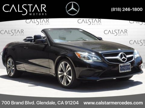 Pre-Owned 2015 Mercedes-Benz E 400 RWD CABRIOLET