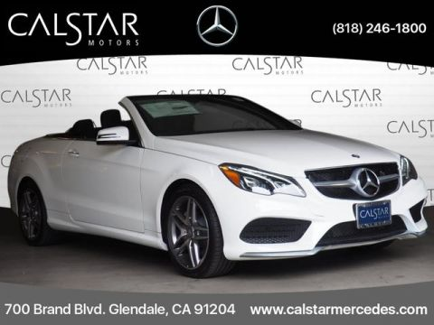 New 2016 Mercedes-Benz E 550 RWD CABRIOLET