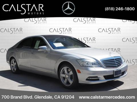 Pre-Owned 2013 Mercedes-Benz S 550 RWD SEDAN