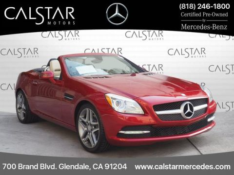 Certified Pre-Owned 2016 Mercedes-Benz SLK 300 RWD ROADSTER