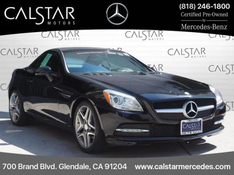 Certified Pre-Owned 2015 Mercedes-Benz SLK 250 RWD COUP/RDST
