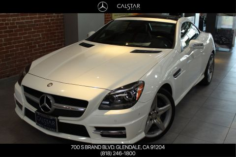 Certified Pre-Owned 2015 Mercedes-Benz SLK 250 Sport RWD COUP/RDST