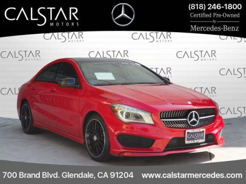 Certified Pre-Owned 2016 Mercedes-Benz CLA 250 Sport FWD Coupe
