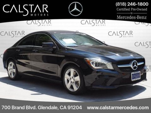 Certified Pre-Owned 2015 Mercedes-Benz CLA 250 FWD Coupe