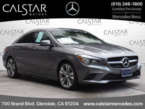 Certified Pre-Owned 2016 Mercedes-Benz CLA 250 FWD Coupe