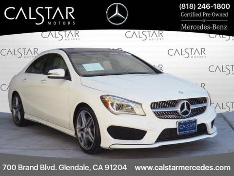 Certified Pre-Owned 2015 Mercedes-Benz CLA 250 Sport FWD Coupe