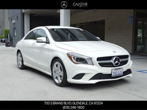 Pre-Owned 2016 Mercedes-Benz CLA 250 All Wheel Drive 4MATIC® Coupe