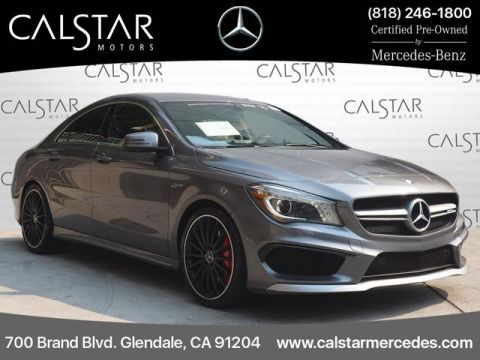 Certified Pre-Owned 2014 Mercedes-Benz AMG® CLA 45 AWD
