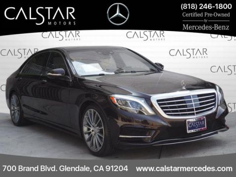 Certified Pre-Owned 2015 Mercedes-Benz S 550 Sport RWD SEDAN