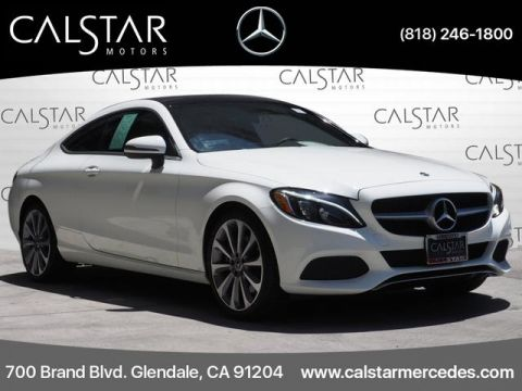 Pre-Owned 2018 Mercedes-Benz C-Class C 300 Coupe