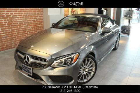 Pre-Owned 2017 Mercedes-Benz C 300 Sport RWD CABRIOLET