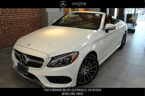 Certified Pre-Owned 2017 Mercedes-Benz C 300 Sport RWD CABRIOLET