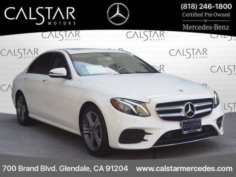 Certified Pre-Owned 2017 Mercedes-Benz E 300 Sport Rear Wheel Drive SEDAN